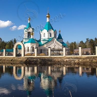 Храм в честь святителя Николая Чудотворца в городе Гусь-Хрустальном