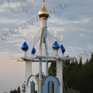 Часовня в честь Воскресения Христова в Мордовии