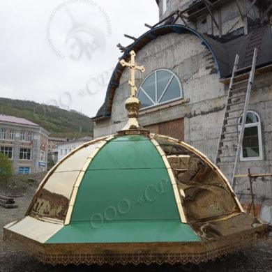 Изготовление производство золочение возведение куполов